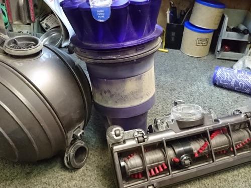 Dyson vacuum repair ball