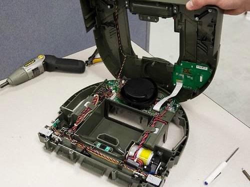 robotic vacuum repair